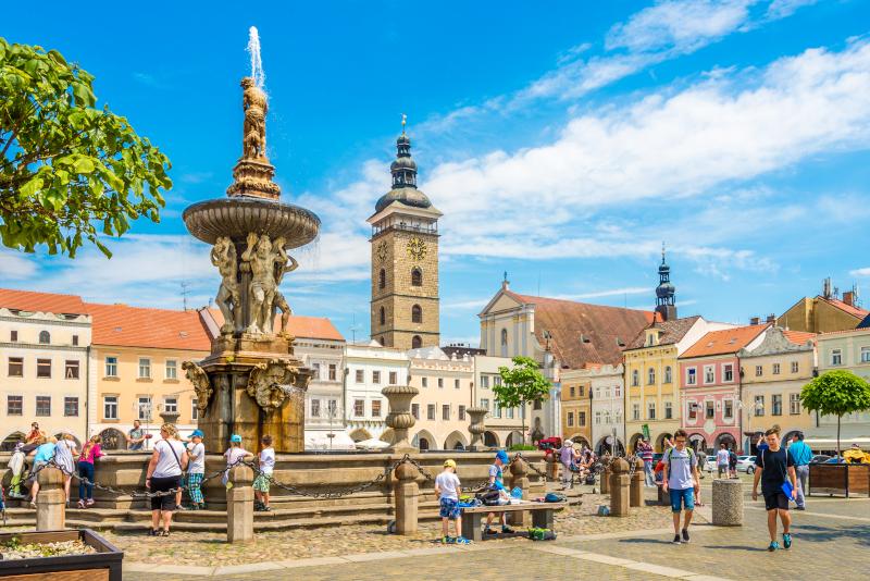 Ceske Budejovice Tagesausflüge von Prag