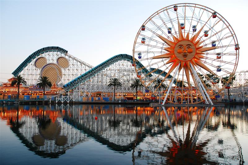 Parc d'attractions Disneyland n ° 2 en Californie
