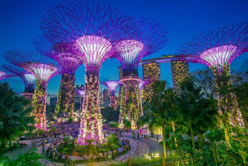 Garden by the Bay - N ° 15 des meilleurs parcs d'attractions à Singapour