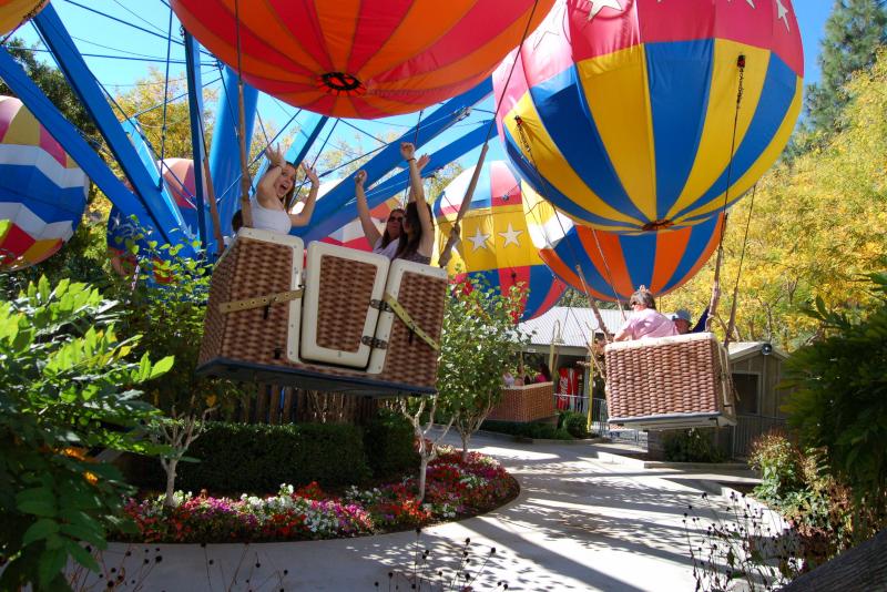 Parc d'attraction familial Gilroy Gardens n ° 16 des parcs d'attractions en Californie