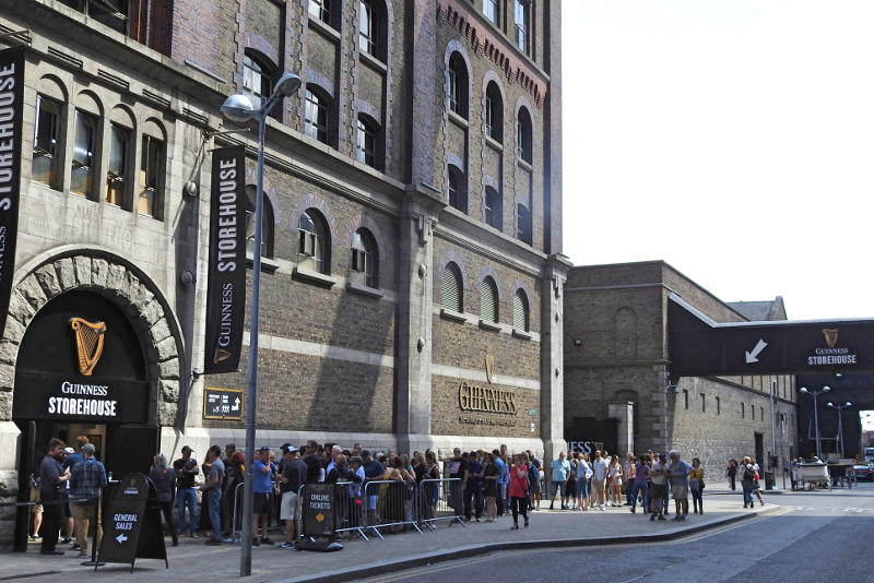 Guinness Storehouse skip the line tickets