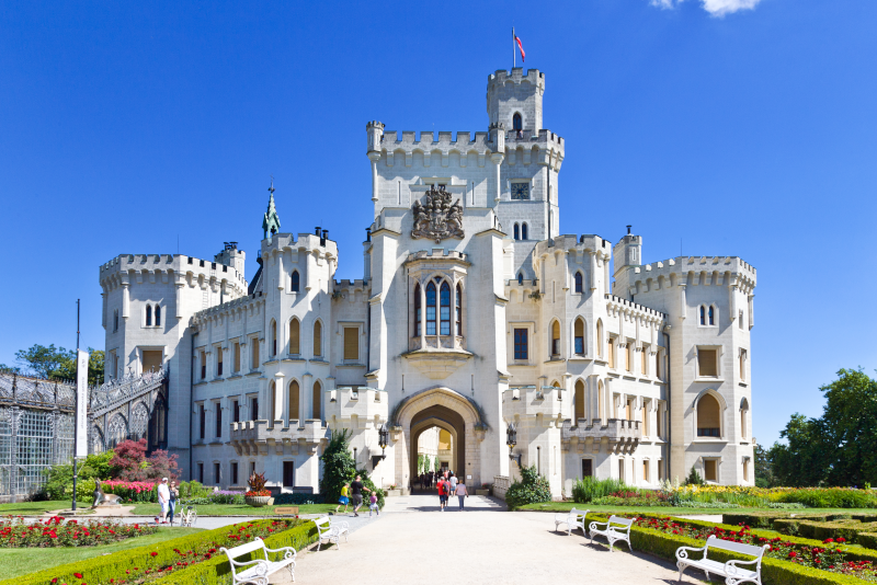Tagesausflüge zum Schloss Hluboka ab Prag
