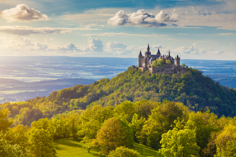 Hohenzollern Castle #23 day trips from Munich