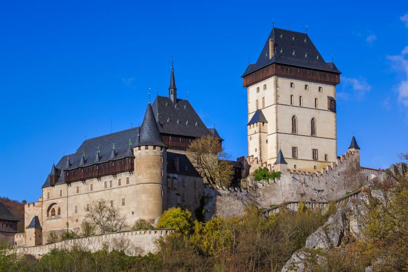 Karlstejn Castle day trips from Prague