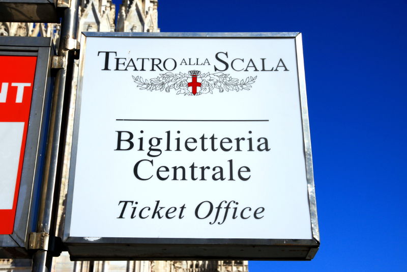 La Scala Milan tickets price