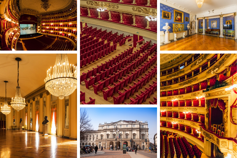 La Scala Theatre tour