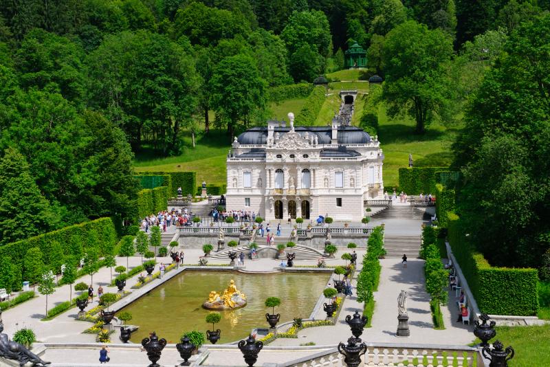 Linderhof Palace #2 day trips from Munich