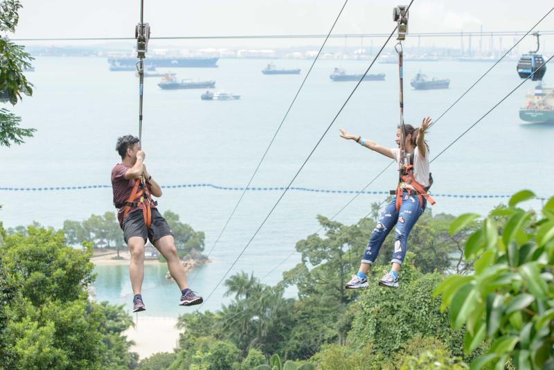 MegaZip Adventure Park - N ° 9 des meilleurs parcs d'attractions à Singapour