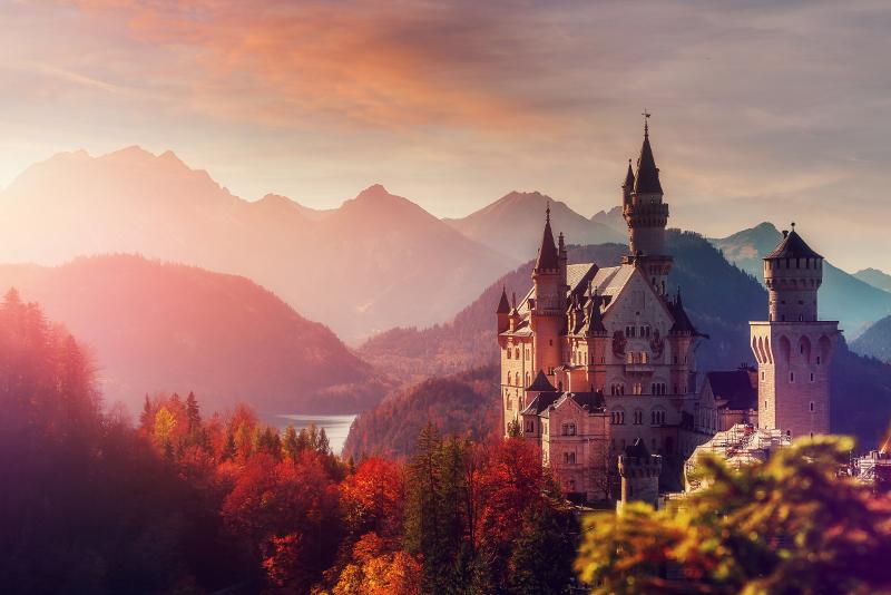 Neuschwanstein Castle #1 day trips from Munich