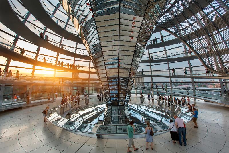 Heures d'ouverture du Dôme du Reichstag