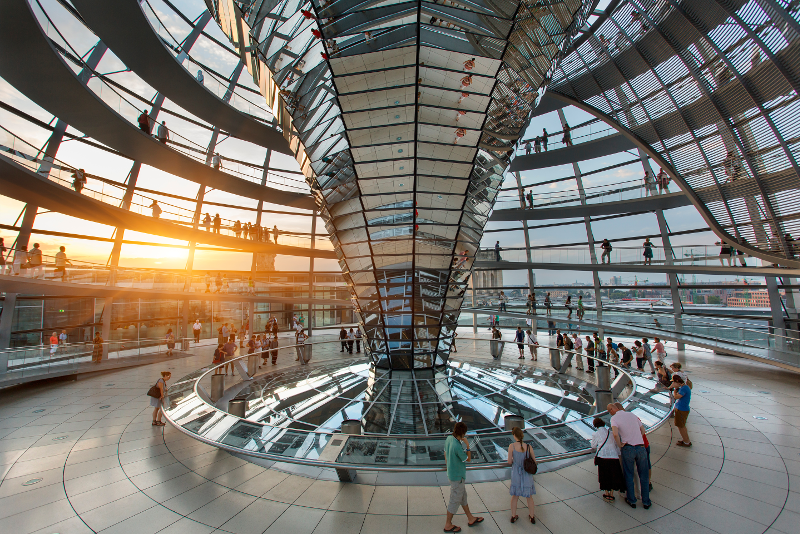 Reichstag Dome opening hours