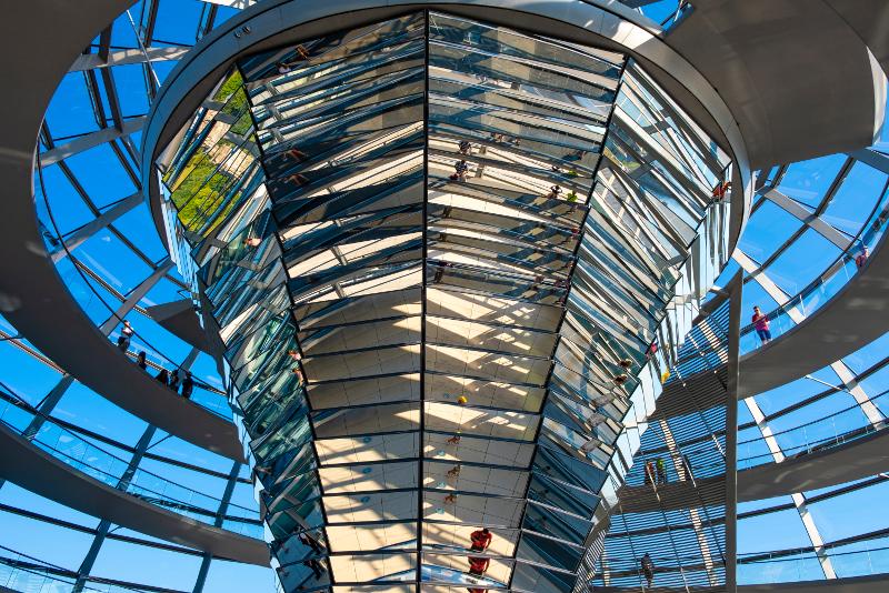 Dôme du Reichstag