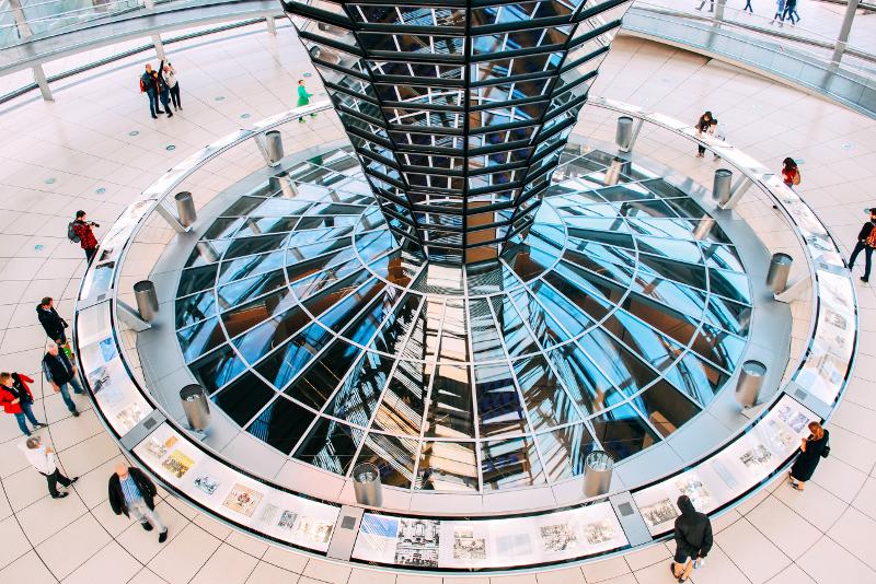 Visites guidées au Reichstag