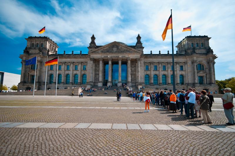 Reichstag sin colas entradas