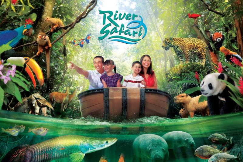 River Safari - N ° 7 des meilleurs parcs d'attractions à Singapour