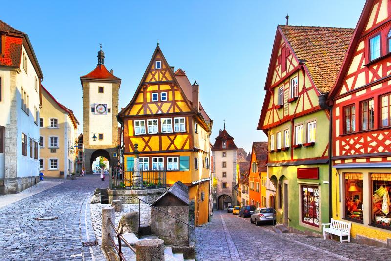 Rothenburg ob der Tauber #3 day trips from Munich