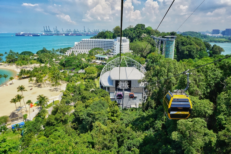 Singapore Cable Car - #21 best theme parks in Singapore