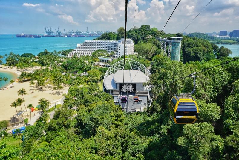 Singapore Cable Car - N ° 21 des meilleurs parcs d'attractions à Singapour
