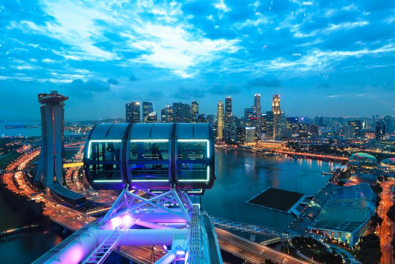Singapore Flyer - N ° 18 des meilleurs parcs d'attractions à Singapour