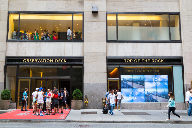 Top of the Rock tickets price