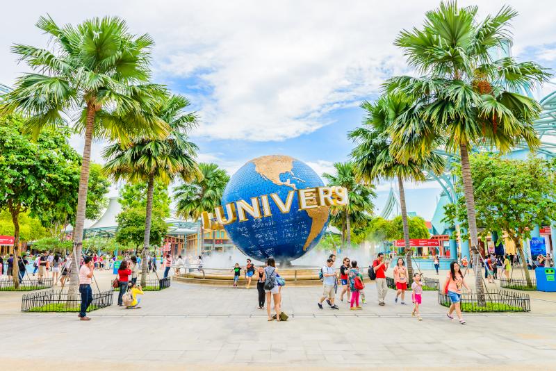 Universal Studios Singapore - N ° 1 des meilleurs parcs d'attractions à Singapour