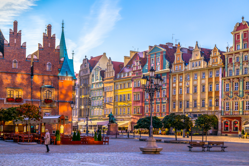 Wroclaw day trips from Prague