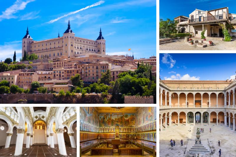 mejores lugares para visitar en Toledo