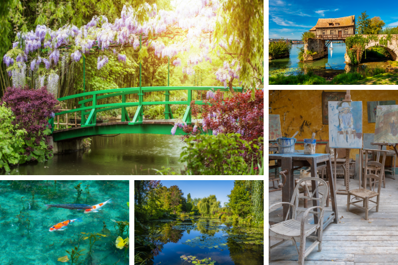 Places to visit in Giverny