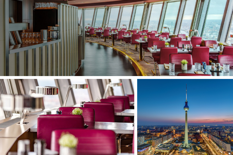 restaurante Berlin TV Tower