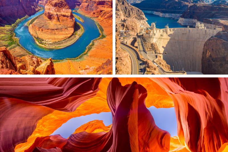 Tour di Antelope Canyon e Horseshoe Bend da Las Vegas