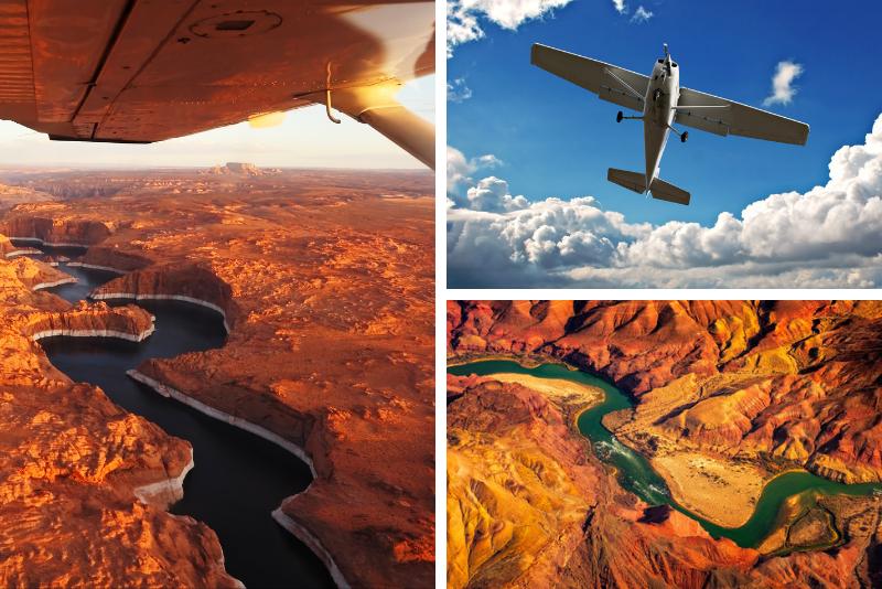 Tour di spedizione aerea dell'Antelope Canyon
