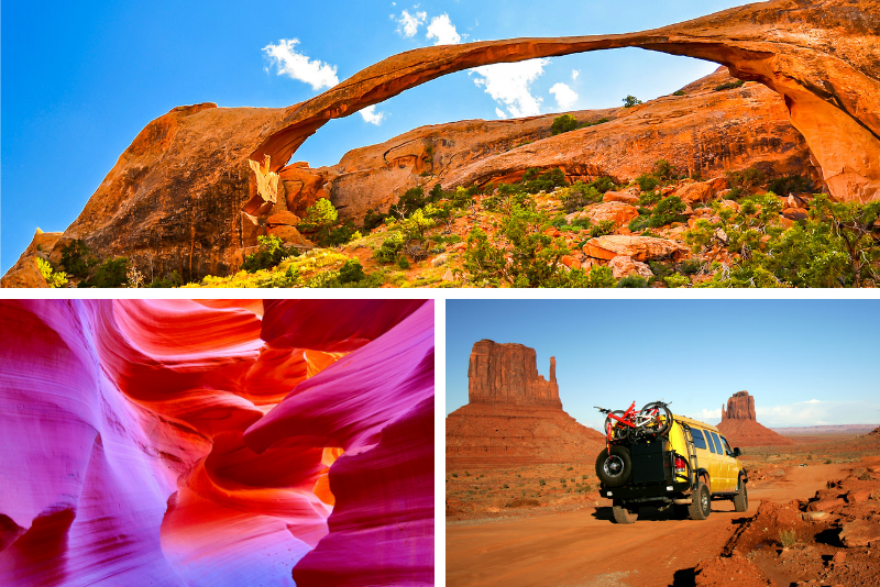 Tour dei parchi nazionali di 7 giorni da Las Vegas