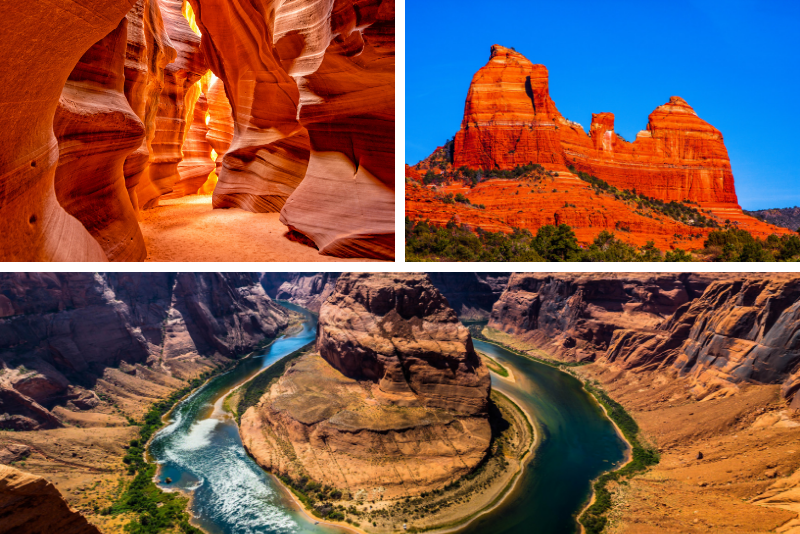 Tour dell'Antelope Canyon e Horseshoe Bend da Sedona