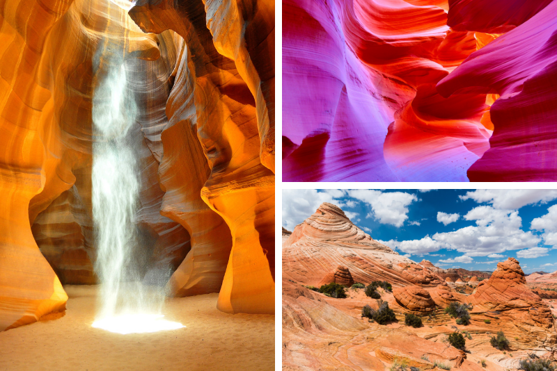Tour panoramico dell'Antelope Canyon e Glen Canyon