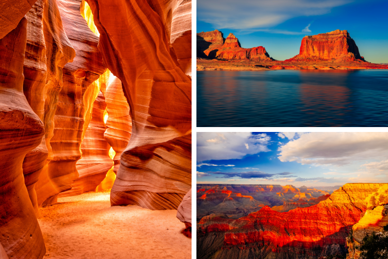 4 giorni a Las Vegas, Grand Canyon, Antelope Canyon e Lake Powell