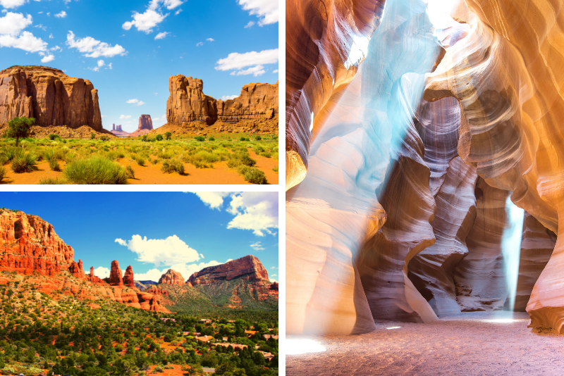 3-Day Tour Sedona, Monument Valley and Antelope Canyon from Las Vegas