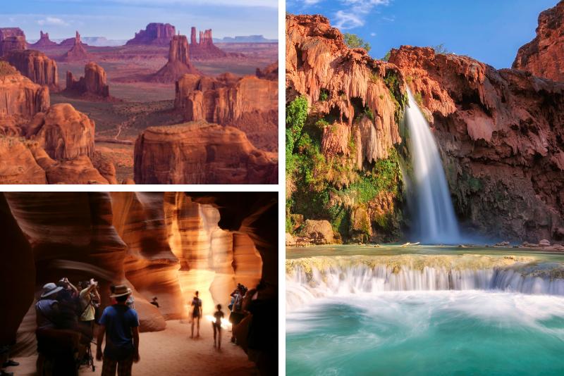 Tour fotografico di Grand Canyon, Antelope Canyon e Horseshoe Bend