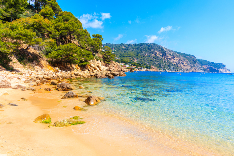 Aiguablava - best day trips from Barcelona