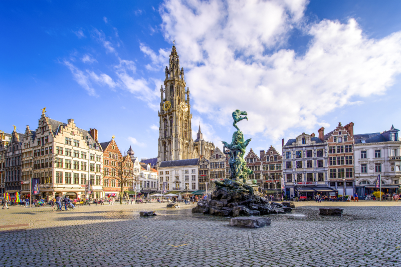 Antwerp day trips from Amsterdam