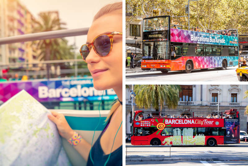 Empresas de tours en bus por Barcelona