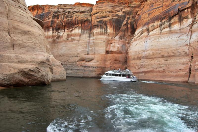 Paseos en barco por el Gran Cañón