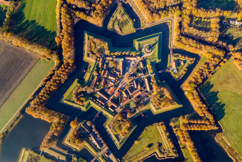 Bourtange day trips from Amsterdam