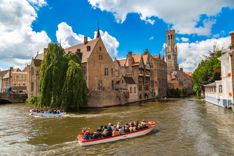 Bruges day trips from Amsterdam