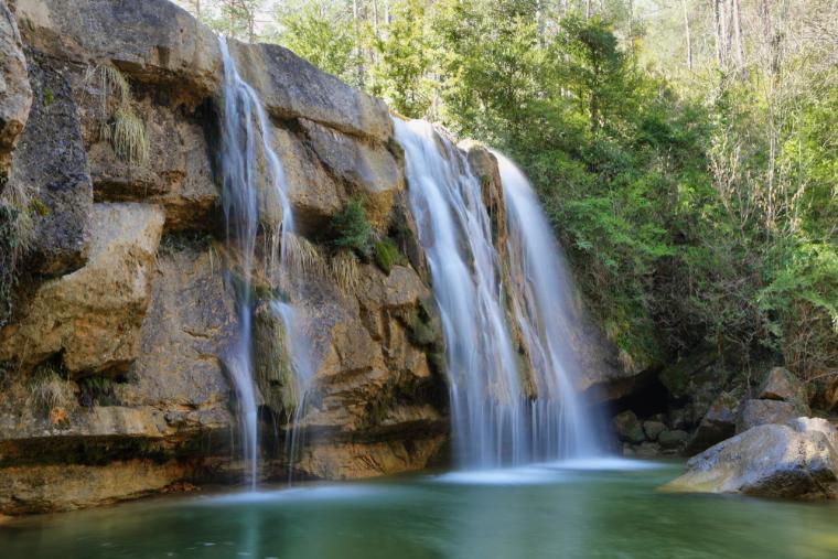 Campdevanol-Wasserfälle Katalonien