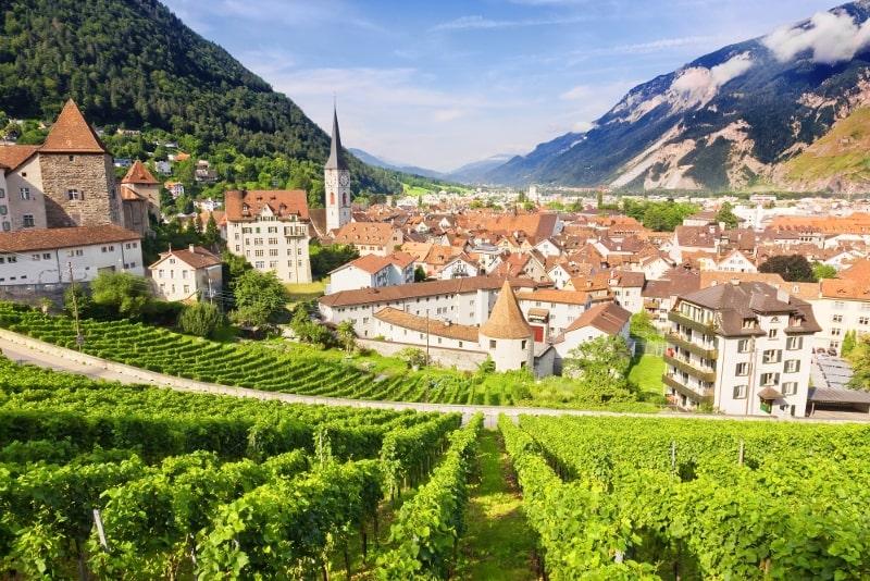 Chur day trips from Zurich