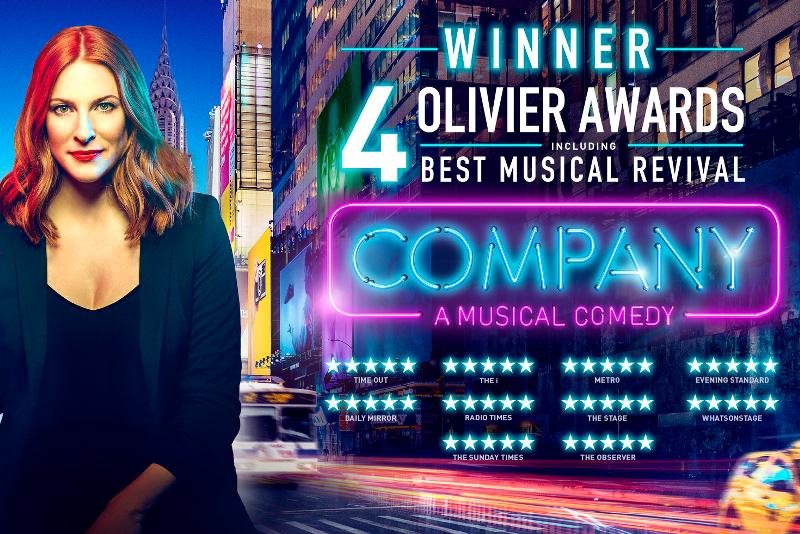 Company - Meilleures Comédies Musicales à voir à Londres en 2019/2020
