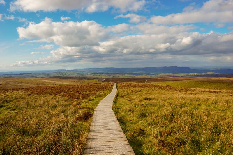 Gite di un giorno a Cuilcagh Legnabrocky Trail da Dublino