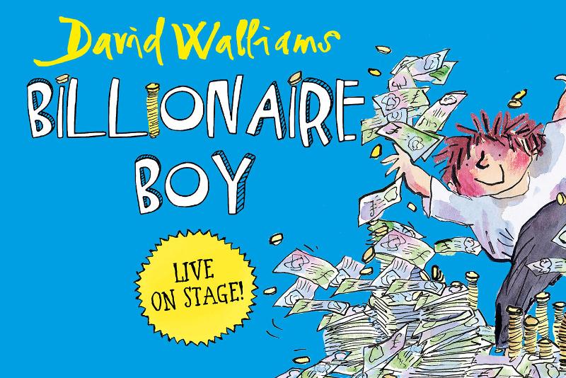 El niño multimillonario de David Walliams - London Musicals