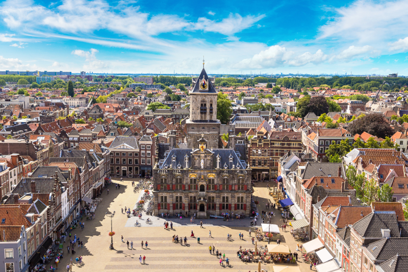 Delft day trips from Amsterdam