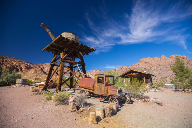 Escursioni  alle miniere di Eldorado Canyon e Techatticup da Las Vegas